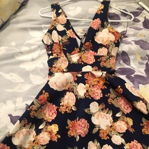 Floral Skater Sundress